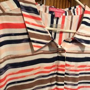 🌼 Women's Striped Collar Tee